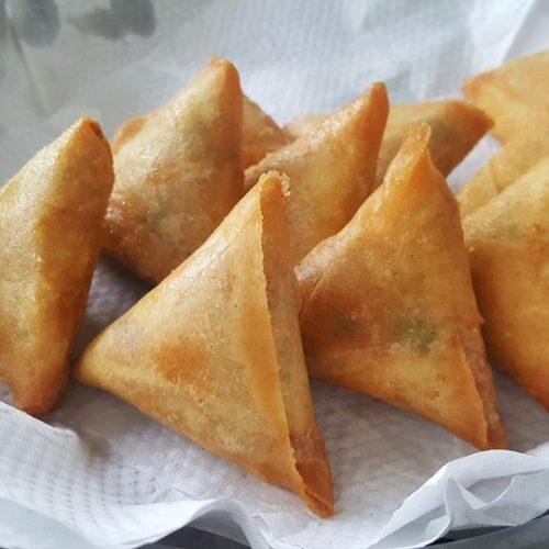 Curry Driehoekjes Met Kip